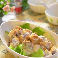 薩摩芋とリンゴとレーズンのシナモン風味サラダ☆