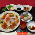 1月3日は、、、お煮しめアレンジのちらし寿司