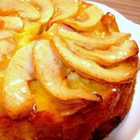 たっぷりリンゴのケーキ