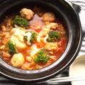塩麹トマトチーズ鍋