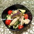 冷やして食べる夏野菜の煮物