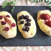 【簡単!袋deもみもみ♪1 hour bread(ワンアワーブレッド)】リッチ♪カスタードパン
