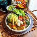 【ホタテと夏野菜カレー】#エスビーカレーアンバサダー