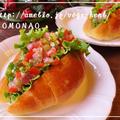 タバスコ・ガーリック仕立てのねぎとろサルサでサンドイッチ♪ご飯・パスタ・トーストにも合う