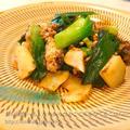 新玉ねぎの葉とサバの水煮缶のすき焼き風♪ by キッズ食育トレーナーKAORI@佐賀さん