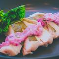 63℃ 桜香るサラダチキン さくらソース by 低温調理器 BONIQさん
