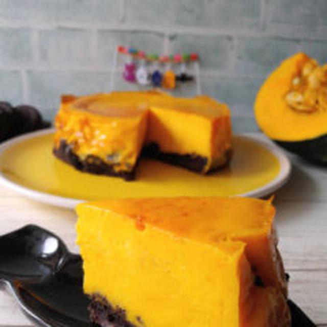 【レシピあり】かぼちゃベイクドチーズケーキ