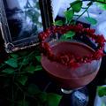 大人の赤ワイン入りチョコカクテル