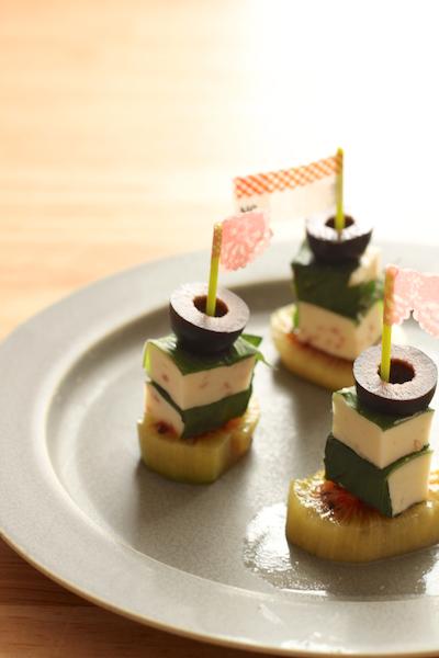 【 小岩井のチーズで簡単ピンチョス! 】