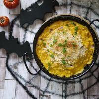 ハロウィンの簡単レシピ|【カボチャとチキンのクリーミィ チーズグラタン】|まだ間に合う!ハロウィンレシピ3選