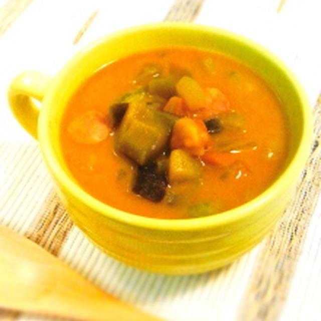 夏野菜カレースープ♪