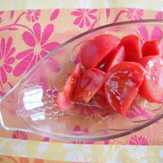 簡単&ヘルシー!メープルトマトアイス