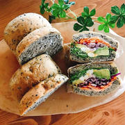 ママクラス新作・ごま食パン