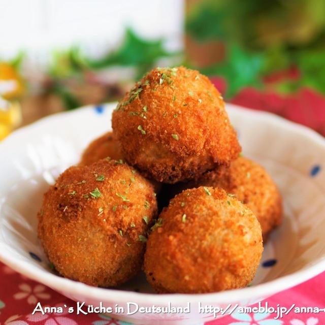 【主菜】ころころ可愛い里芋と牛ひき肉コロッケ♡ねっとり美味しい!と集中力の問題