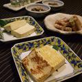 サヨリのにぎり寿司と塩豆腐三種♪