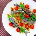 秋刀魚のペペロンチーノ風ソテー♪