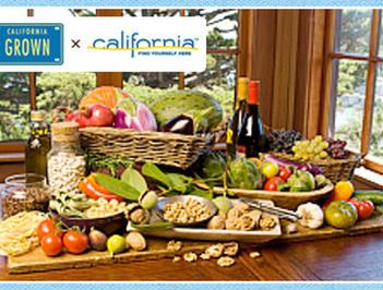 カリフォルニア農産物を使ったアイデアレシピコンテスト開催決定♪