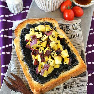 ほっこりやさしい味!おやつに「さつまいものトースト」はいかが?