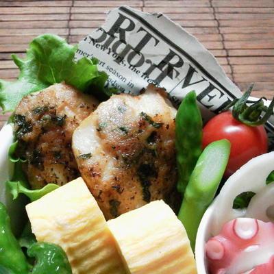 朝時間.jp お弁当にぴったり「肉おかず」レシピ5選~鶏むね肉の炙り梅しそピーナッツバター~