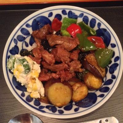 ラム肉の焼き肉丼