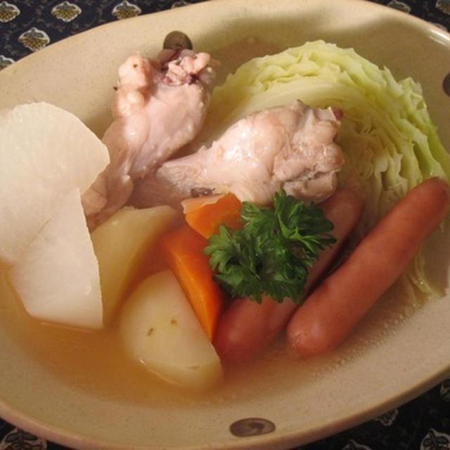 炊飯器で♪生姜風味でぽかぽかポトフ