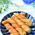 七夕に作った【さくべい】塩味がヤミツキになる素朴な揚げ菓子