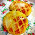 トースターで10分☆食パンが本格メロンパンに変身 by Mariさん