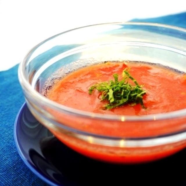 冷製トマトスープレシピと好き嫌いのはなし