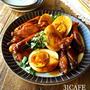 ♡フライパンde超簡単♡手羽と玉子のこってり煮♡【鶏手羽中*甘辛*卵】