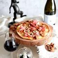 【スピードレシピ】さくっと作れてお洒落度満載💛生ハムとアーモンドのピッツア