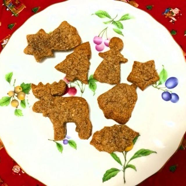 クリスマスのクッキー準備
