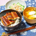 鰻のかば焼き丼とごぼうサラダ、それからお料理教室と街はぴ更新です。
