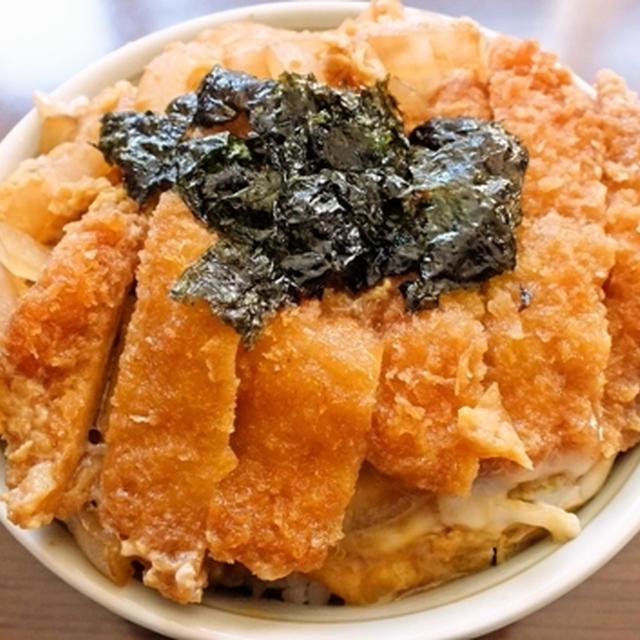 チキンカツ丼(プチ丼)