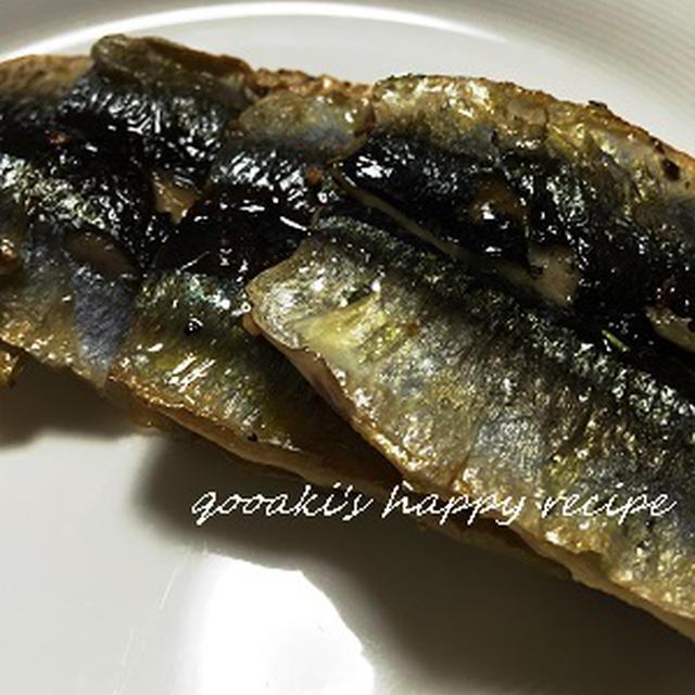 ■ 秋刀魚のガーリックソテー