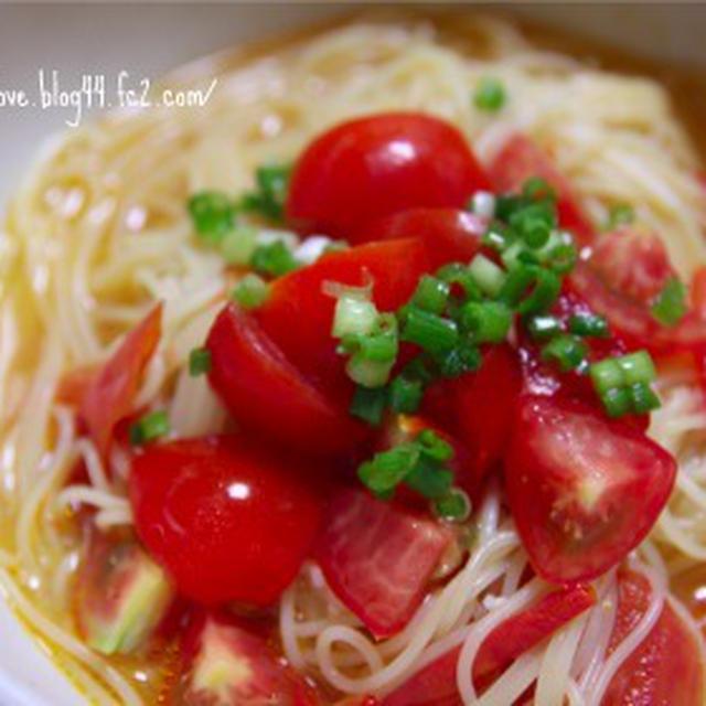 トマトtomatoスープパスタ