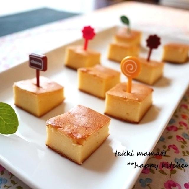 ルクエ使用♪生クリームなしで簡単チーズケーキ