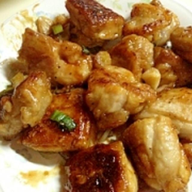 昨日のご飯 鶏の照り焼き
