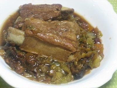 豚肉スペアリブの黒ビール煮*ビタクラフトモニター記事*