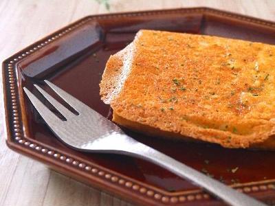 >パリパリチーズの厚揚げトースト♪夜のおつまみに by みぃさん