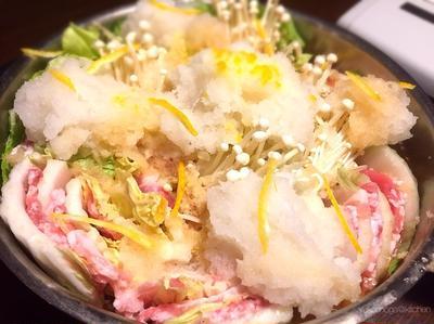 大根と生姜たっぷり!柚子香る、白菜豚バラみぞれ鍋で風邪を吹き飛ばそう