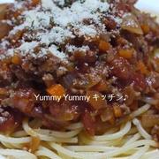 ミートトマトスパゲッティ&パスタ♪