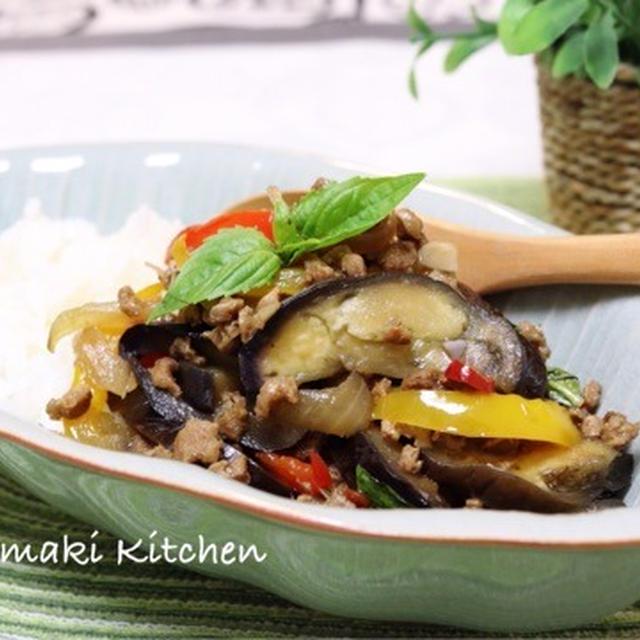 大豆のお肉でタイ料理♪