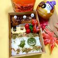 コロコロメンチカツ団子と彩り昆布のハロウィン弁当 by とまとママさん