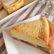 牛乳たっぷり☆ベークドチーズケーキ