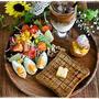 ワンプレート朝ごはん~パワーサラダの朝ごはん~と手作りシュークリーム
