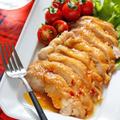 はちみつ味噌de鶏チャーシュー【#作り置き #お弁当 #鶏むね肉 #レンジ #下味不要 #主菜 #和風】