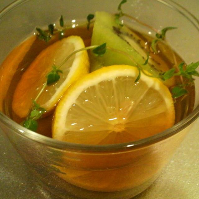 キウイフルーツとレモン&コモンタイムのフルブラ (サントリーさん フルブラ レシピ)
