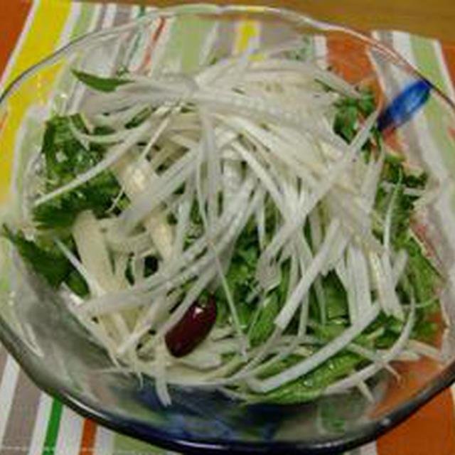 【電気と火を使わないレシピ】じゃがいものせん切りサラダ