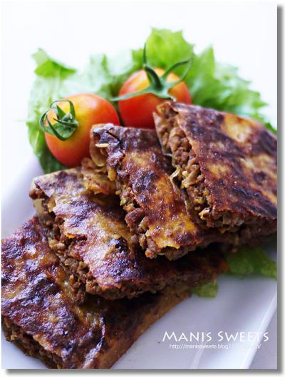 スパイシーなインドネシア料理「 マルタバ」