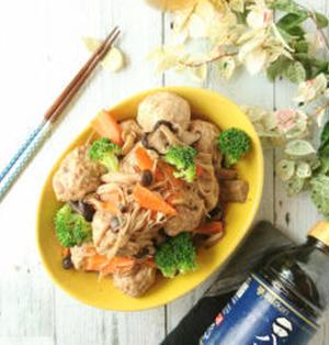 【レシピあり】ふんわり♪豆腐肉団子和風きのこあんかけ